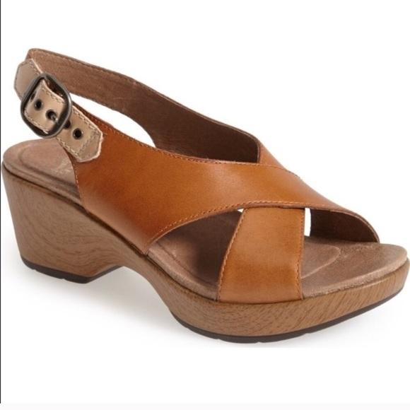 910c4c50f46c Dansko Shoes - NEW Dansko Jacinda sandal wedges